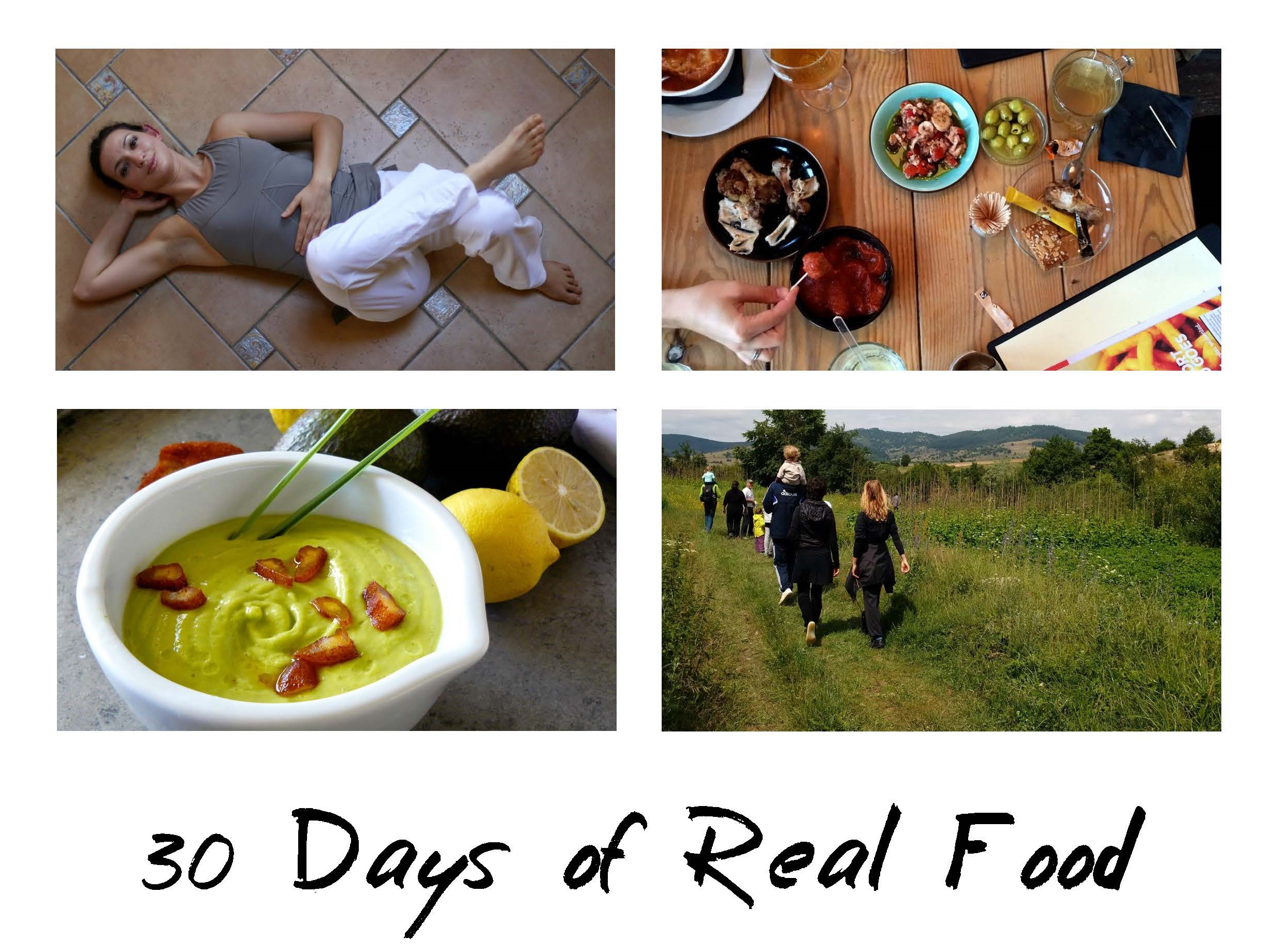 30 Days of Real Food - The Real Food Reset