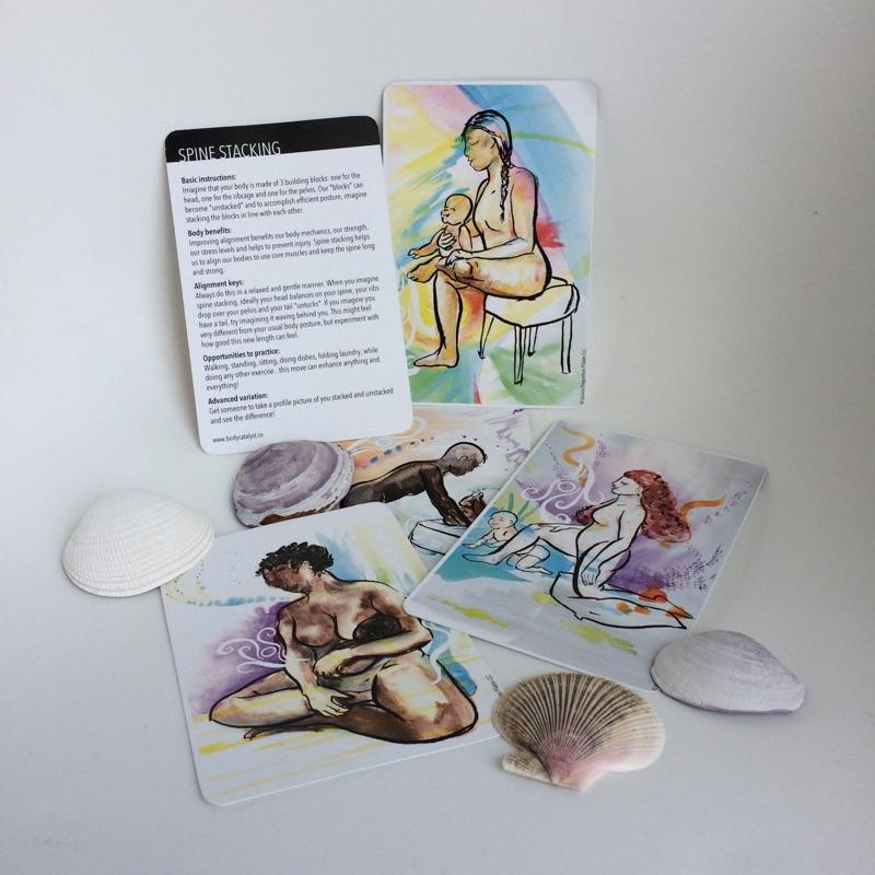 bethany drohman mama moves cards prenatal