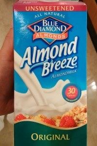 Blue Diamond almond milk carton lawsuit