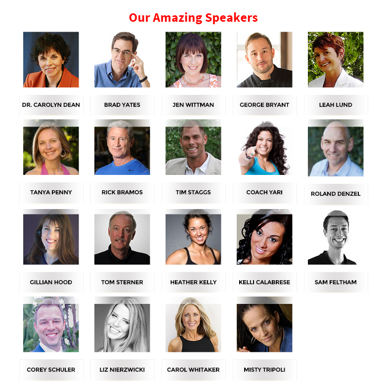 Body BlackBelt Summit presenters