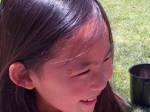 Food Revolution Day Ladybug Release