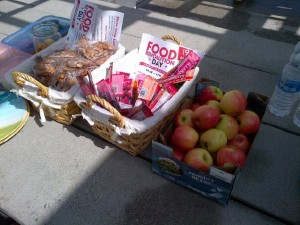 Food Revolution Day Table