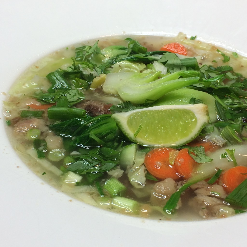 Fast, healthy, pho-inspired soup – make it today!