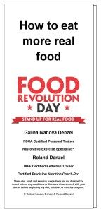 PDF brochure from our 2012 Food Revolution Day events