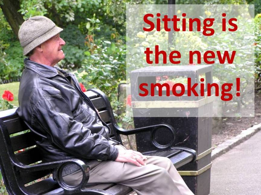 sitting is the new smoking due - Fitness Summit '14 2014-04-14