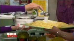 sugar on pasta