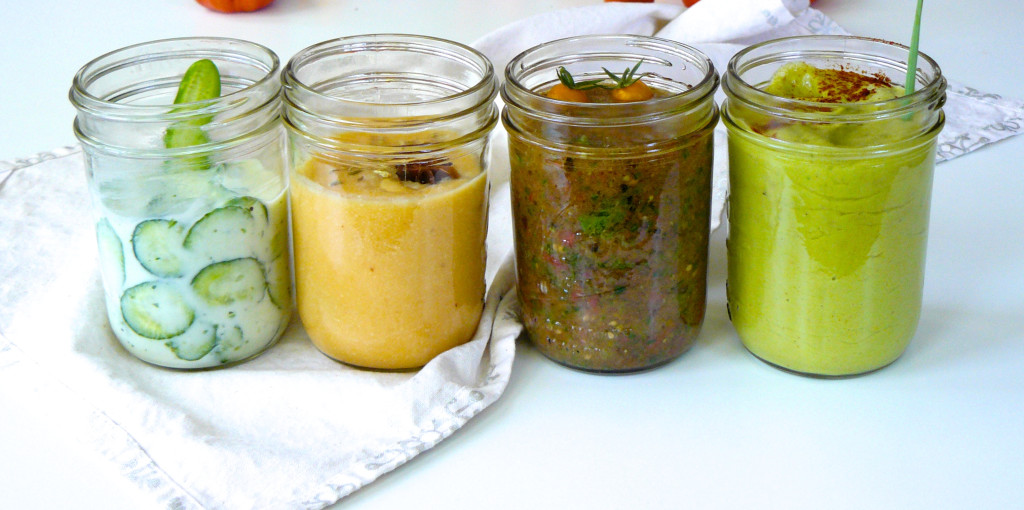 chilled summer soups great for primal or paleo diet